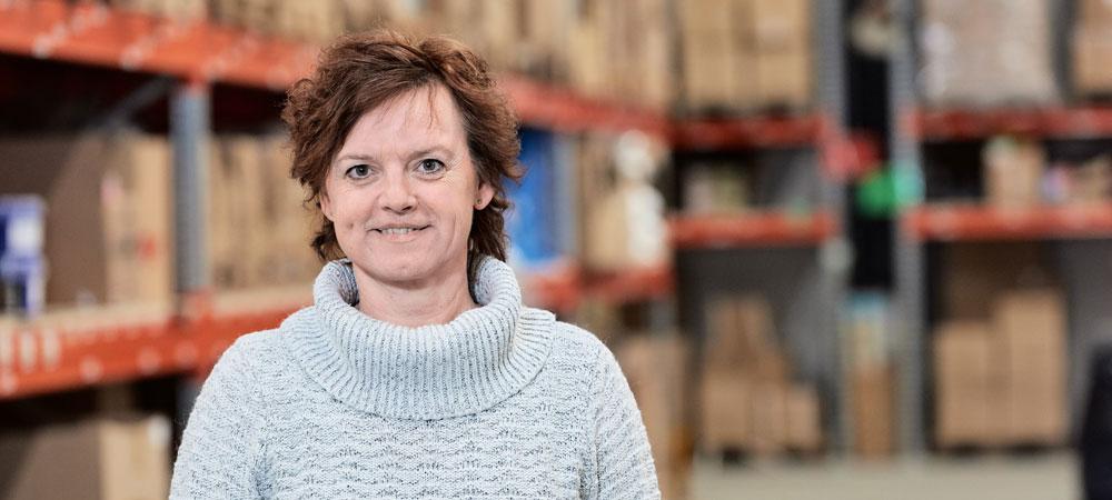 Lene Baadsgaard, projektchef for forretningsudvikling og Supply Chain hos Av Form, LOGIA lagerstyring kunde