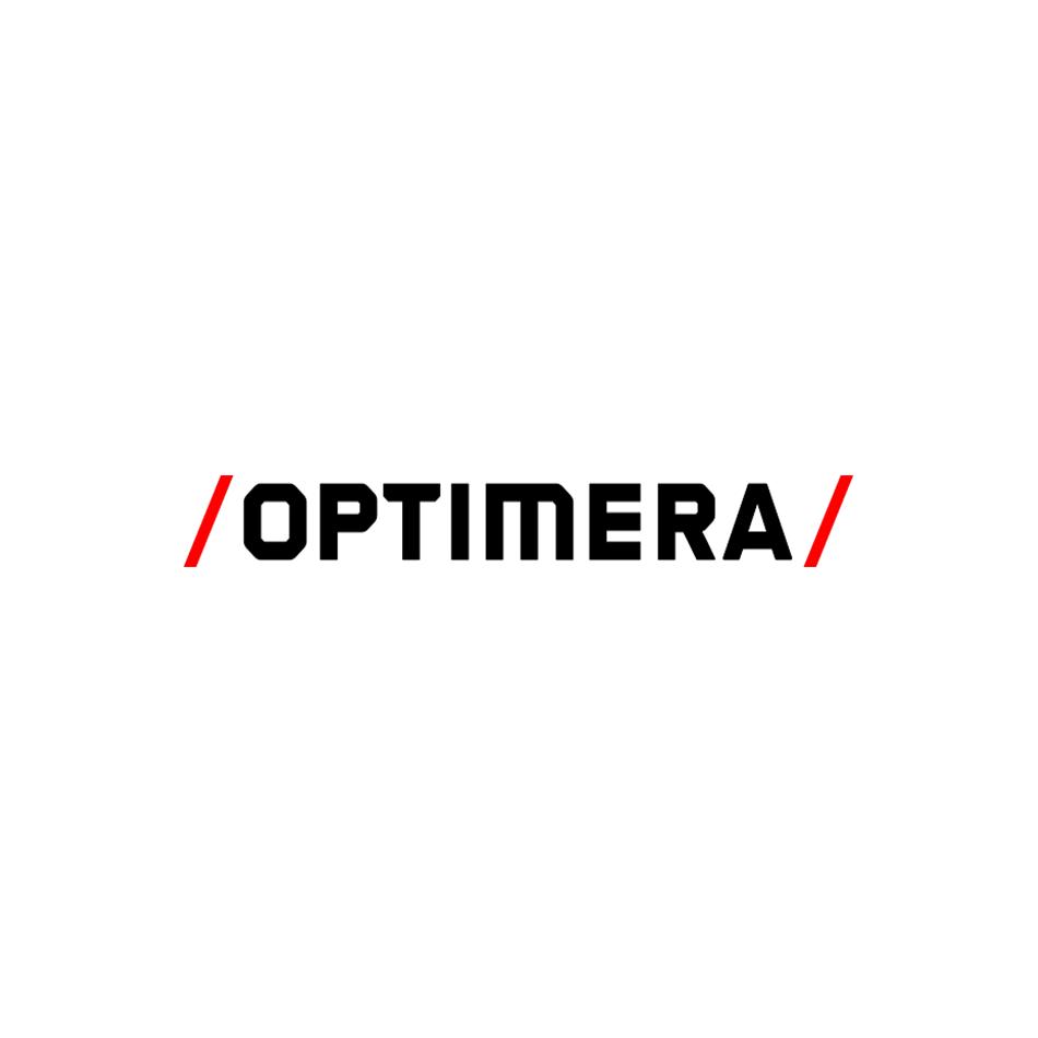 Optimera logo, LOGIA lagerstyring kunde