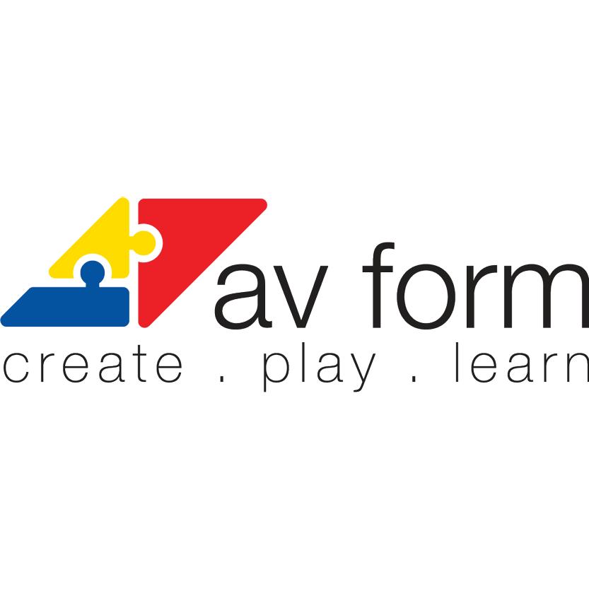 Av Form logo, LOGIA lagerstyring kunde