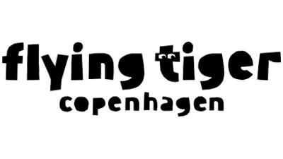 Flying Tiger Copenhagen logo, LOGIA lagerstyring kunde